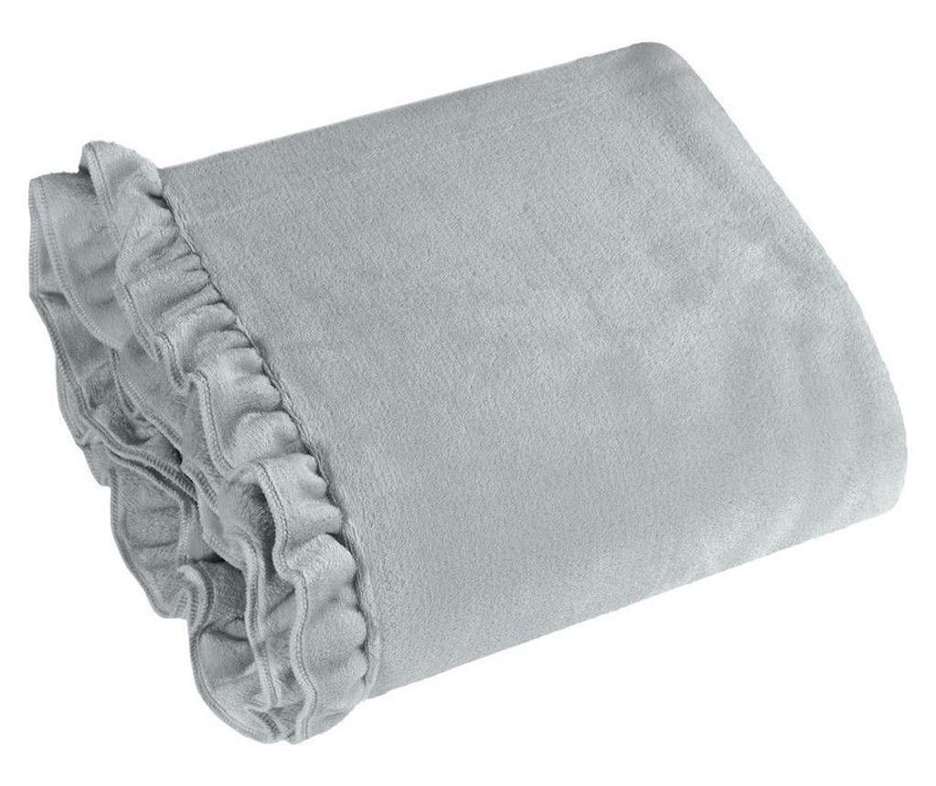 Deka Dolly Silver 150x200 cm