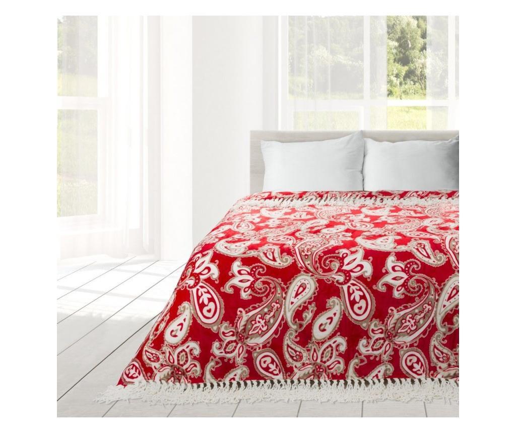 Deka Lily Red 150x200 cm