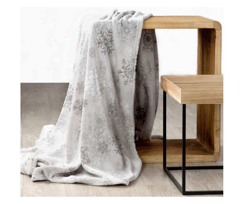 Deka Snow Silver 150x200 cm