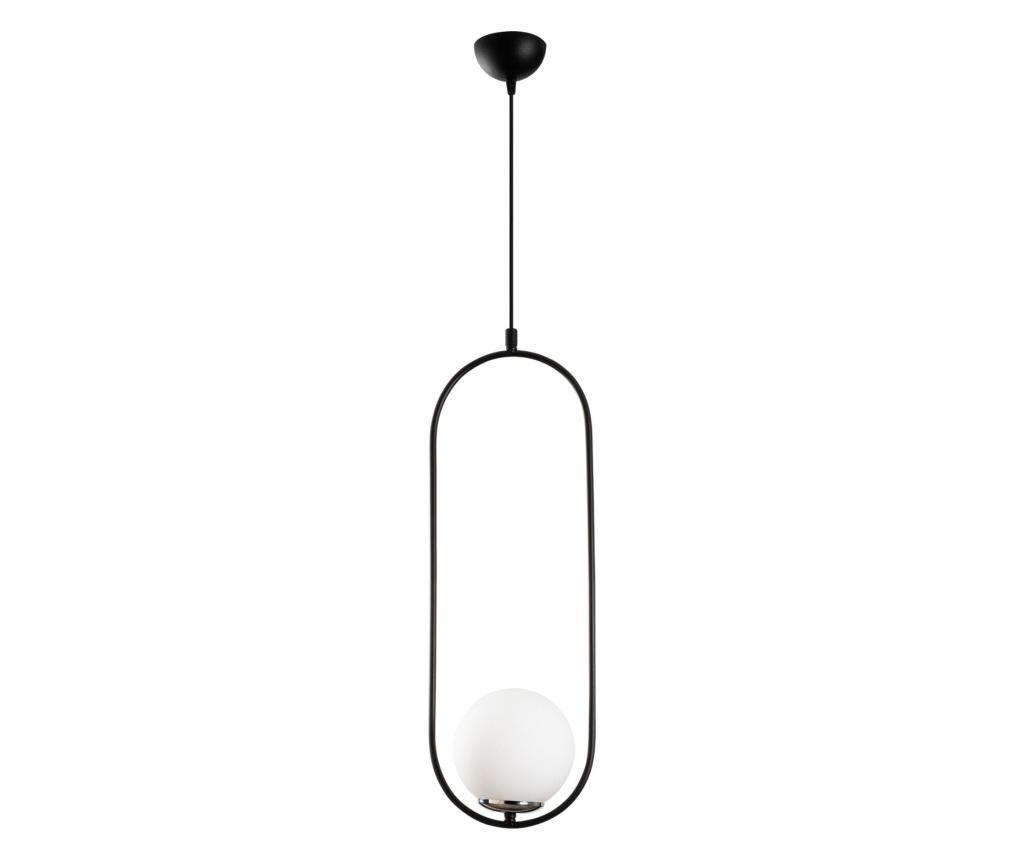 Závěsná lampa Mudoni One Black White