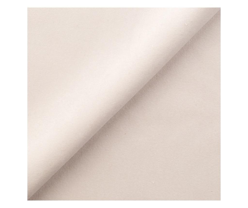 Pat cu saltea si tablie de pat Opulance Cream 160x200 cm