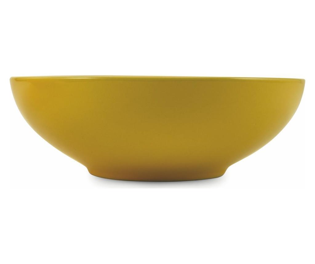 Set 2 boluri pentru salata Baita Orange & Yellow