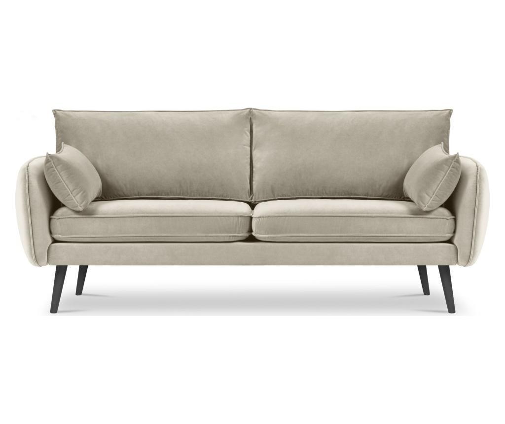 Canapea 4 locuri Lento Velvet Beige