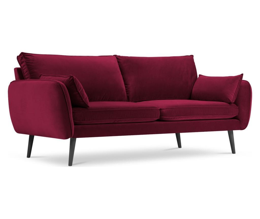 Canapea 4 locuri Lento Velvet Red