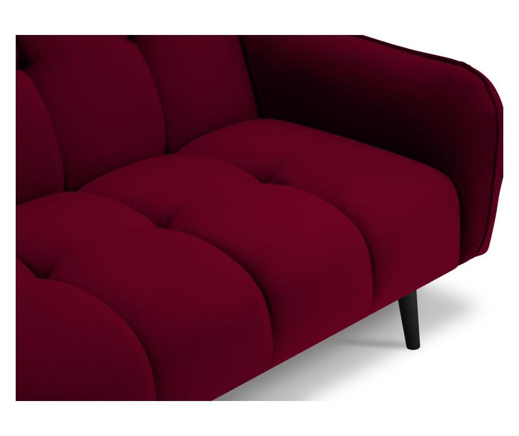 Canapea extensibila cu 3 locuri Maestro Velvet Red