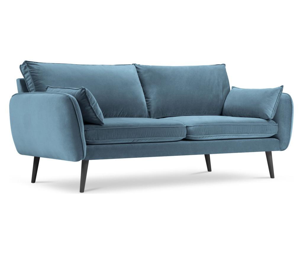 Canapea 4 locuri Lento Velvet Blue