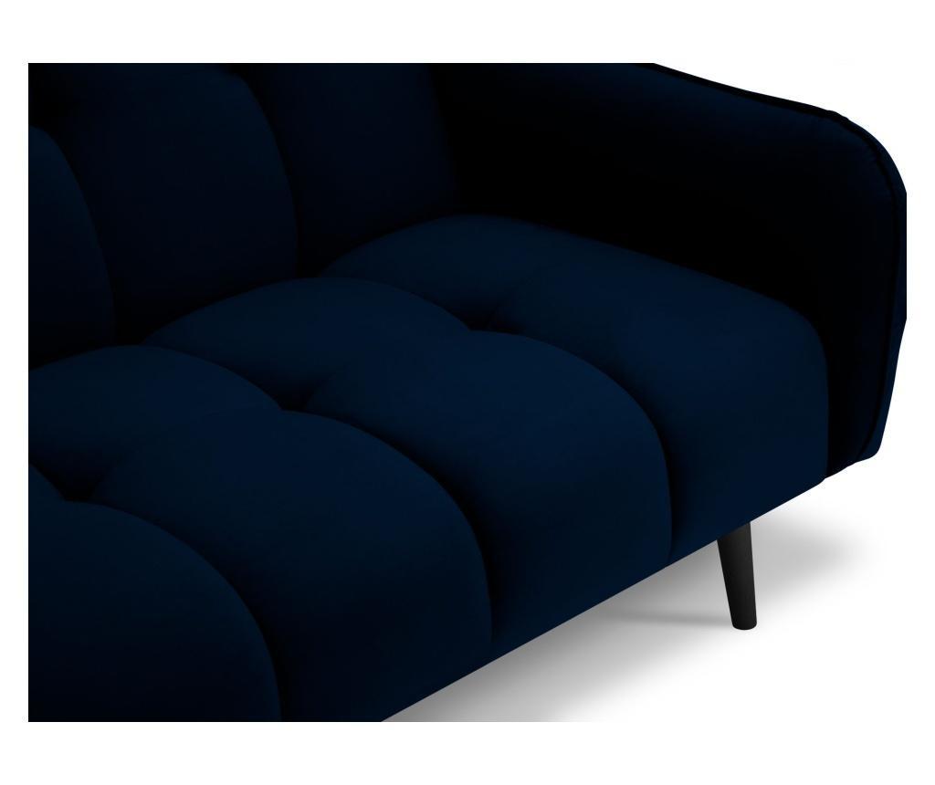 Canapea extensibila cu 3 locuri Maestro Velvet Royal Blue