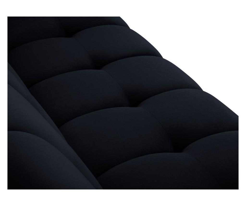Canapea extensibila cu 3 locuri Maestro Velvet Dark Blue