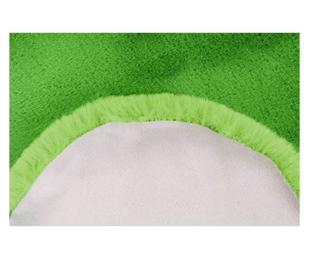 Tepih Fluffy Kids Star Green 60x63 cm