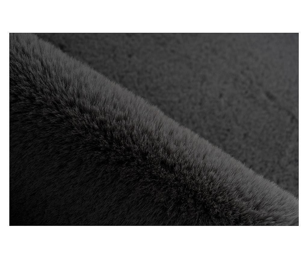Tepih Fluffy Kids Star Anthracite 60x63 cm