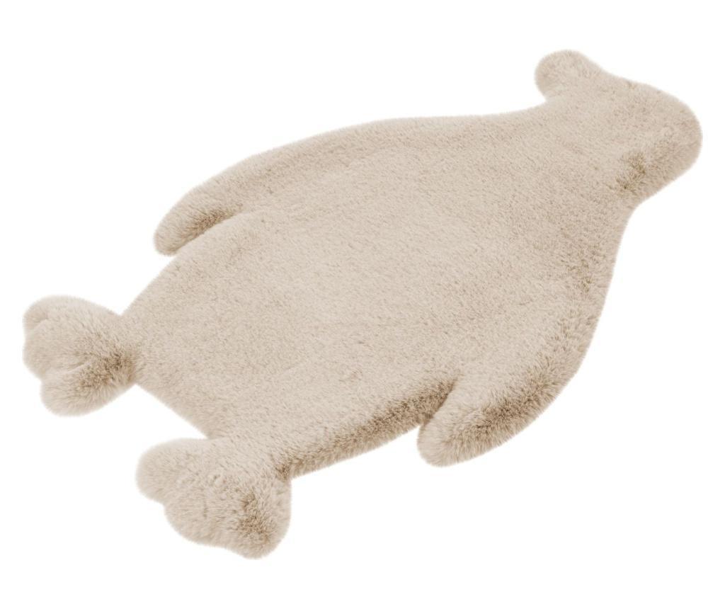 Tepih Fluffy Kids Penguin Creme 52x90 cm