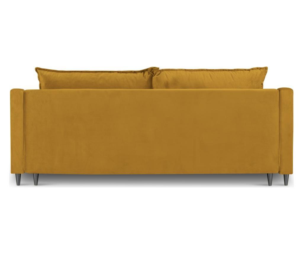 Canapea extensibila cu 3 locuri Lilas Yellow