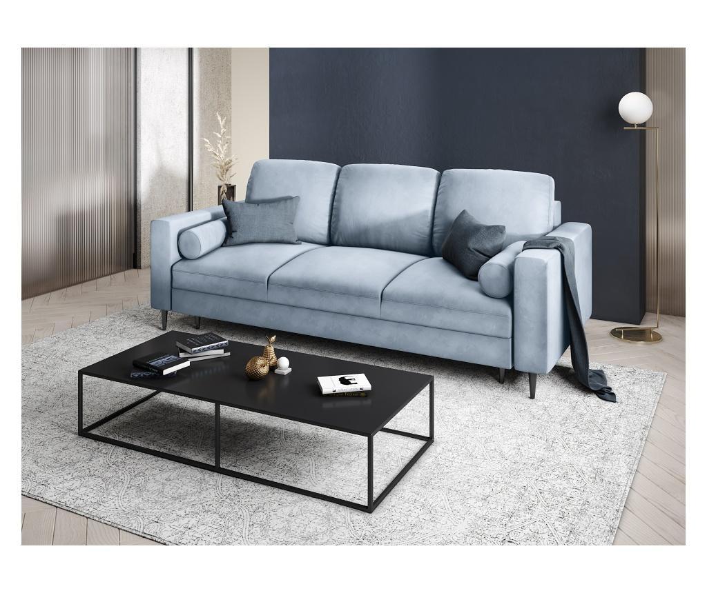 Rozkładana kanapa 3-osobowa Camellia Blue