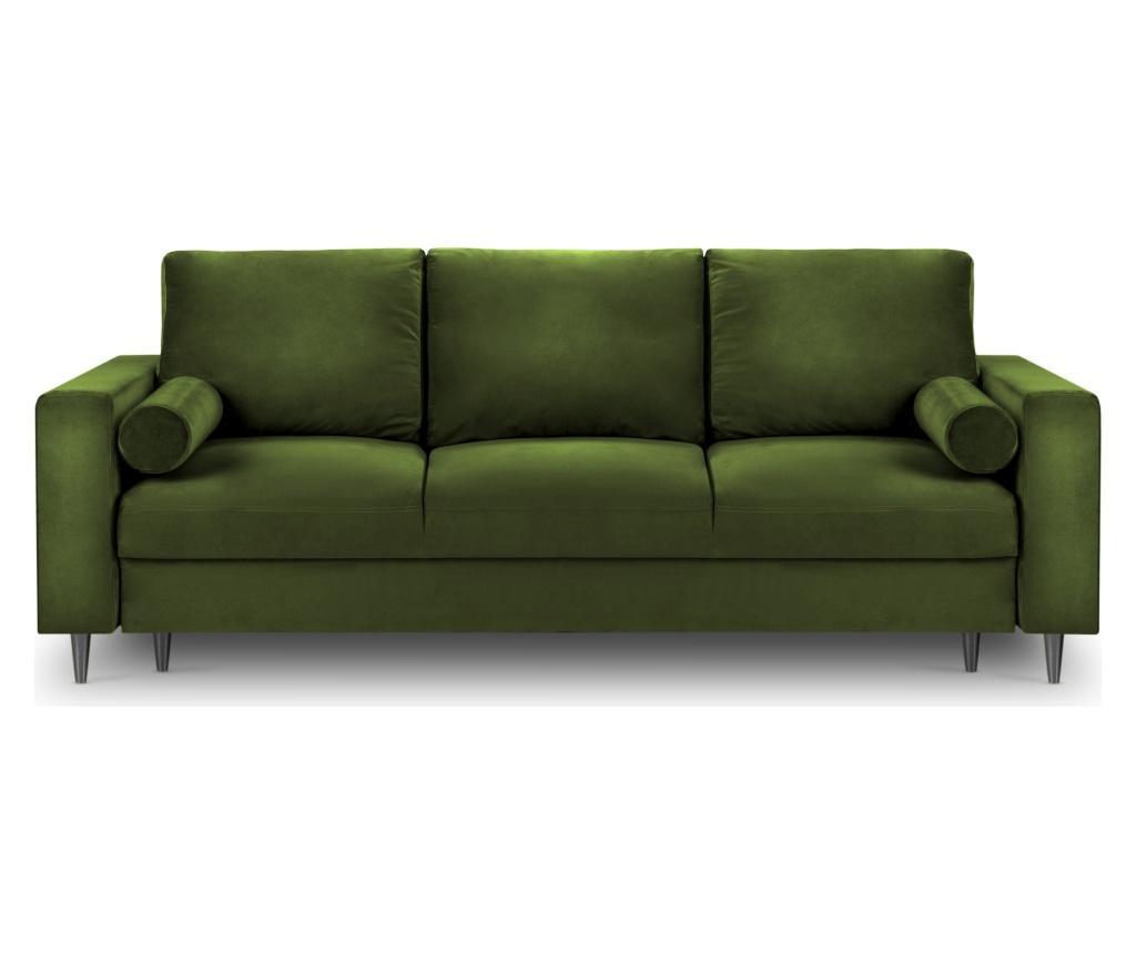 Rozkładana kanapa 3-osobowa Camellia Green