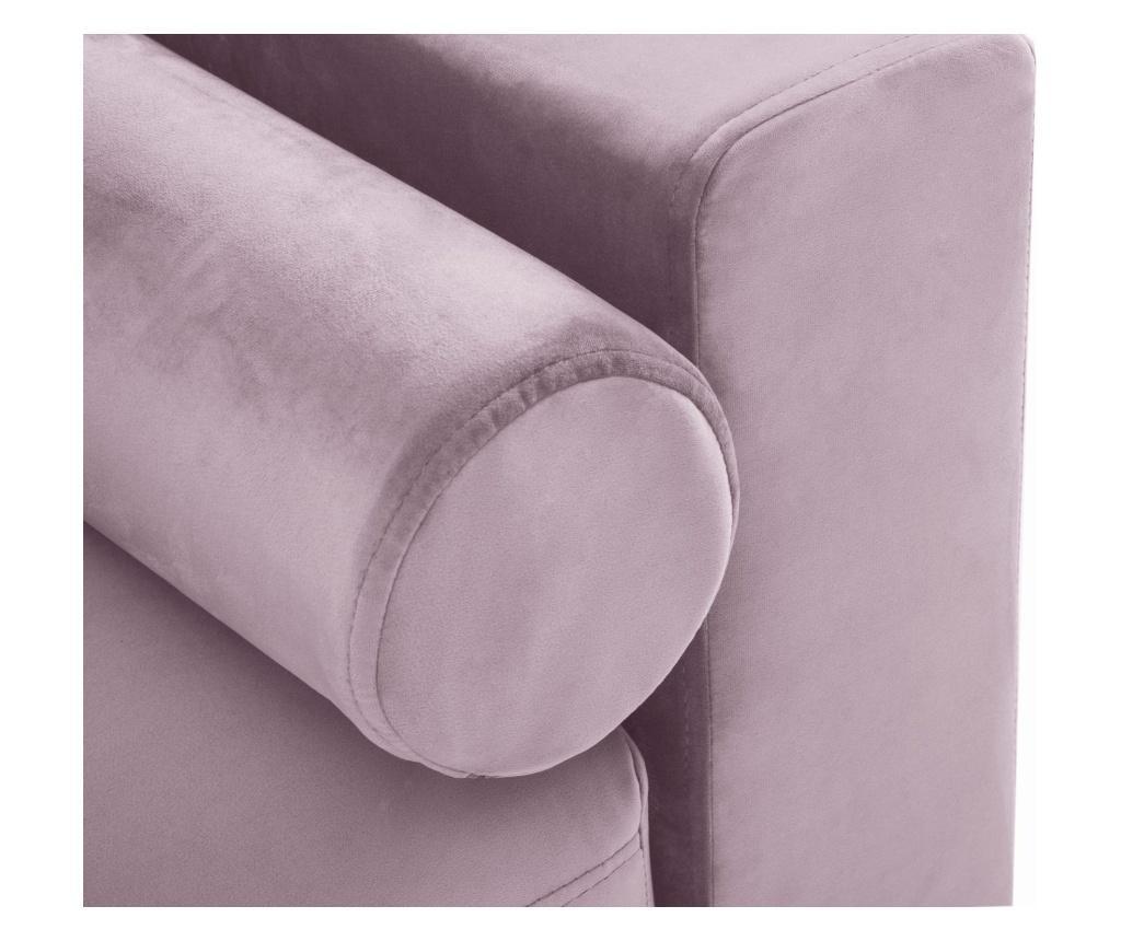 Rozkładana kanapa 3-osobowa Camellia Pink