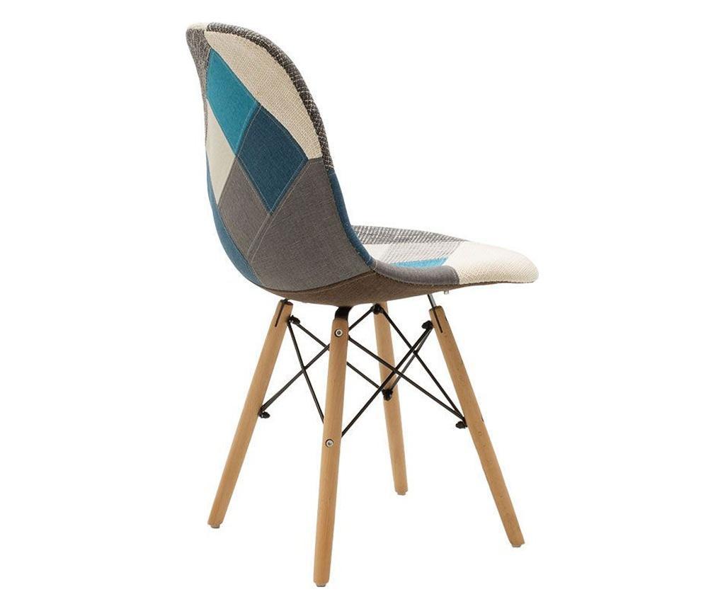 Καρέκλα Julitta Blue Oak