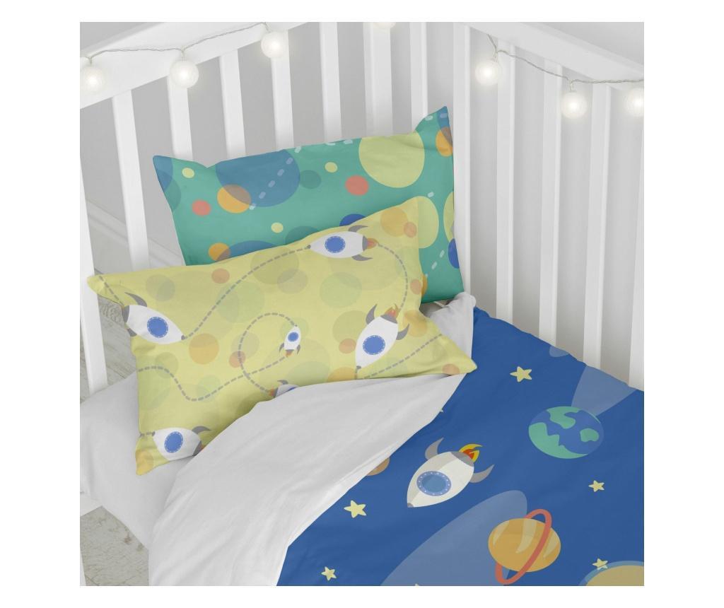 Posteljina za krevetić Astronaut Uni