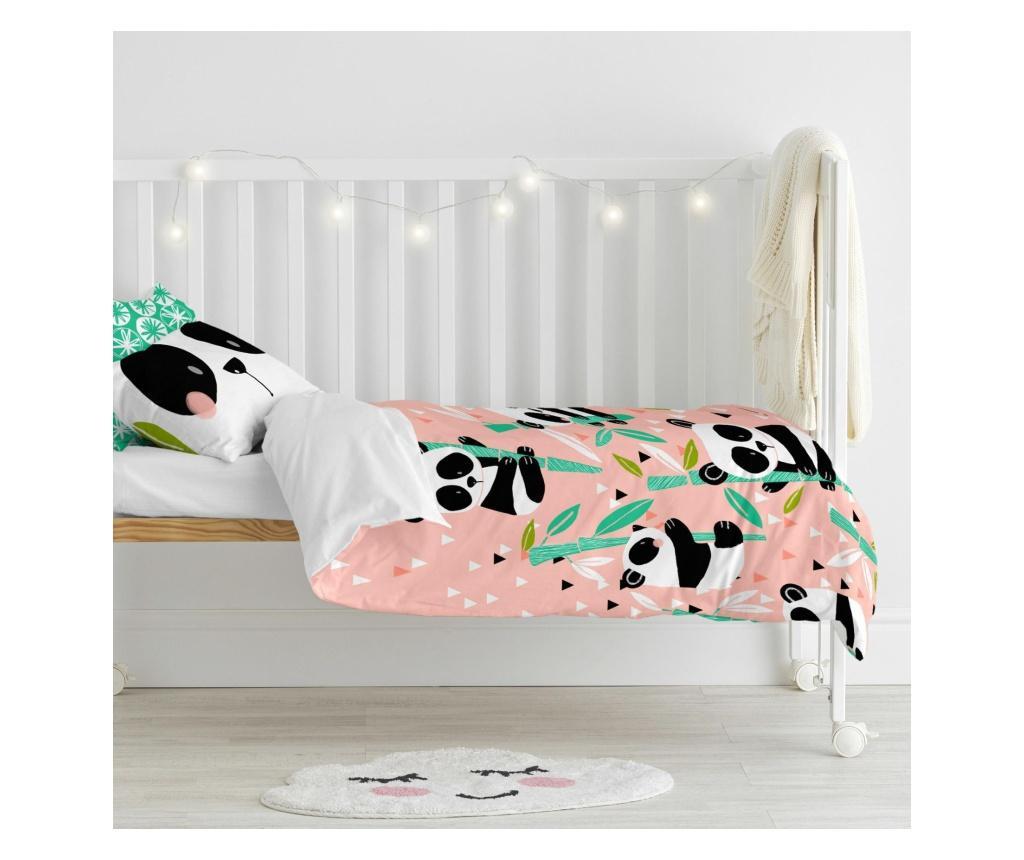 Set za krevetić Panda Garden Extra