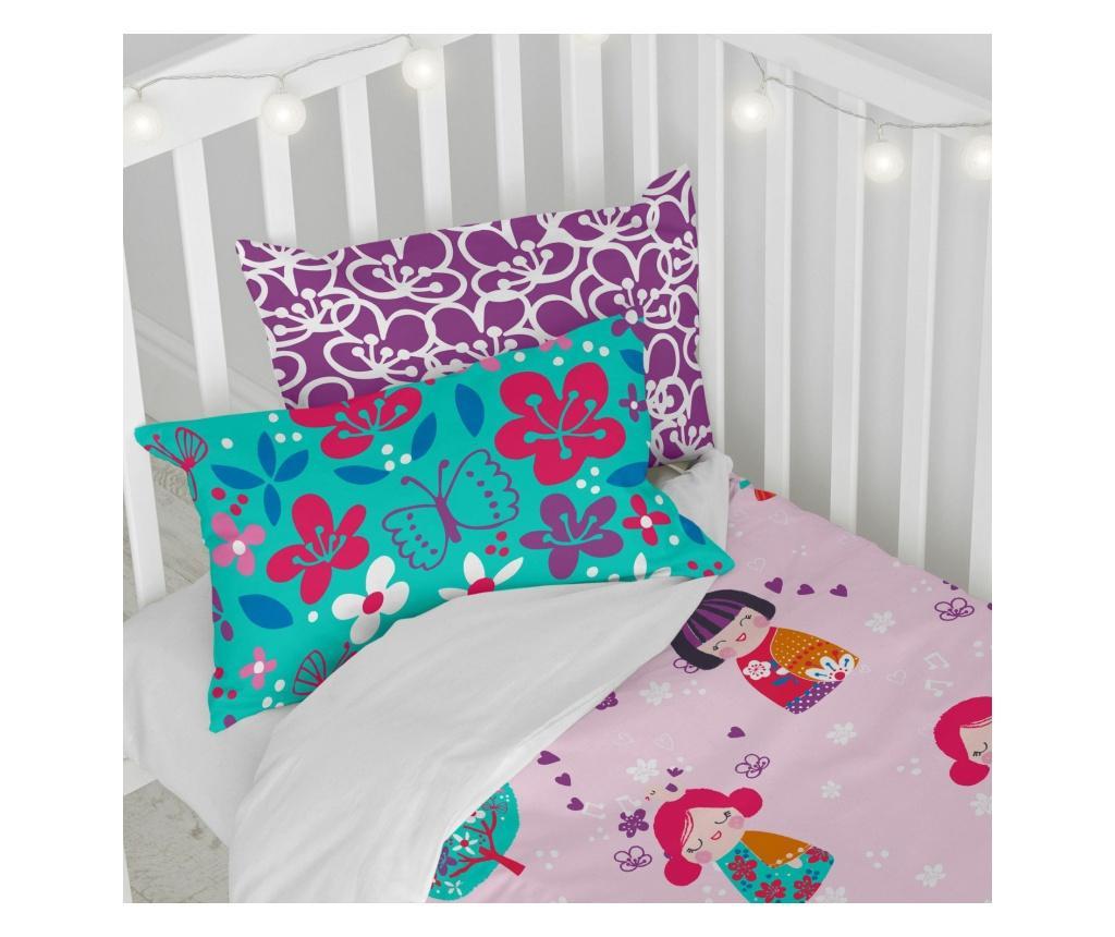 Set za krevetić Cherry Blossom Uni