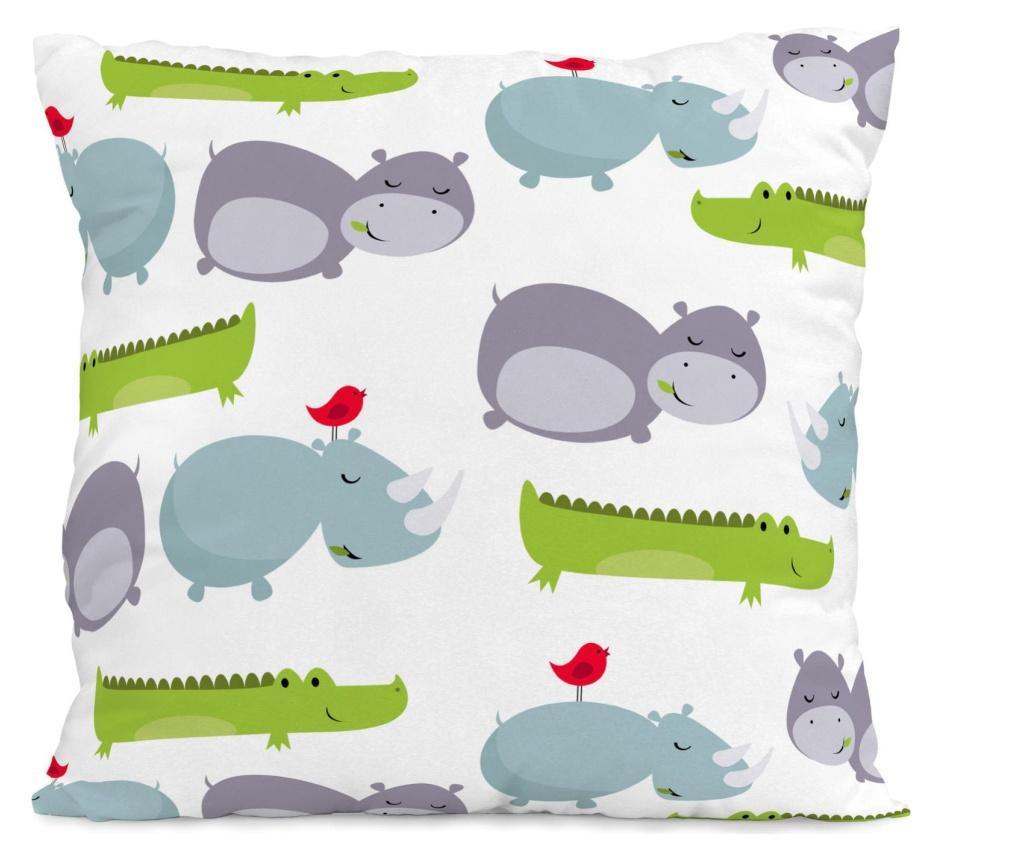 Set de pat Single Hippo Square
