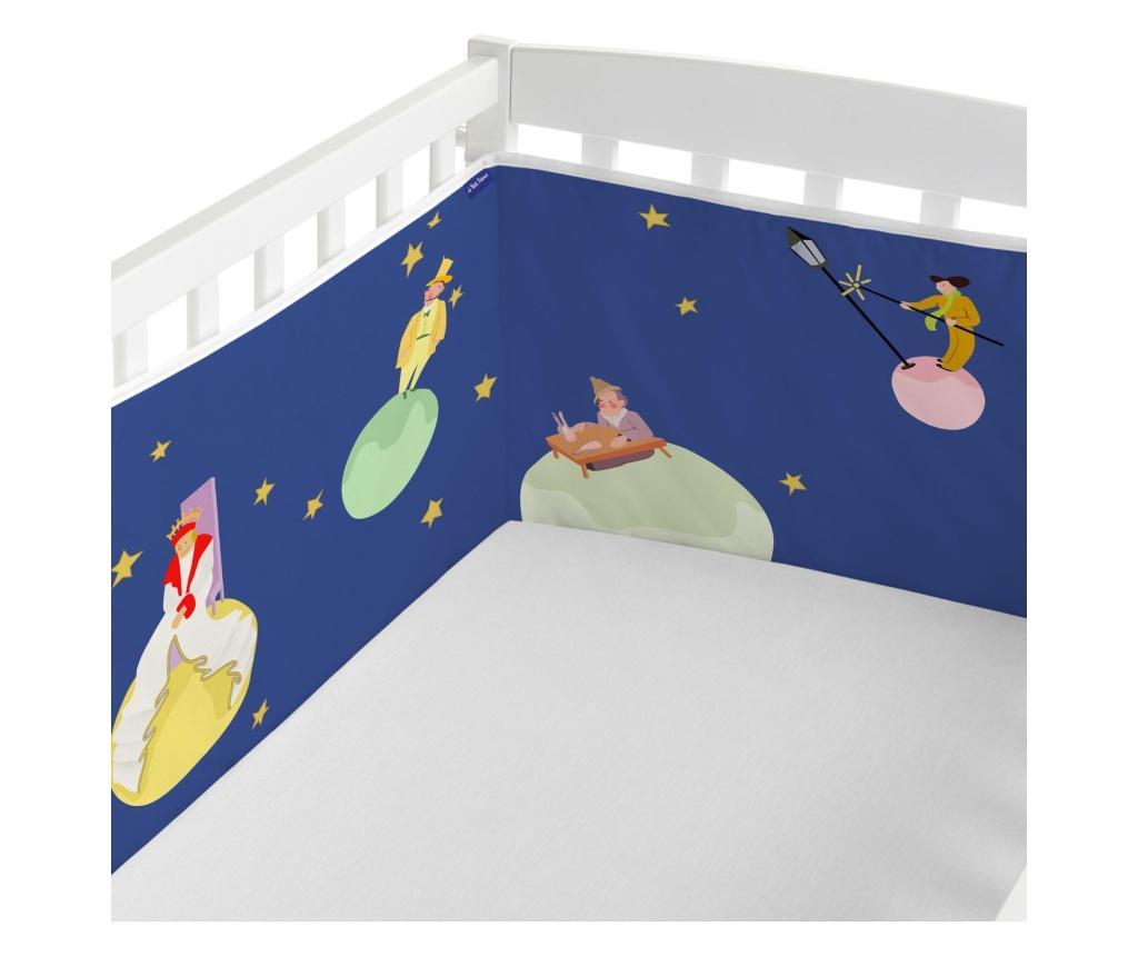Protectie pentru patut Little Prince 40x210 cm
