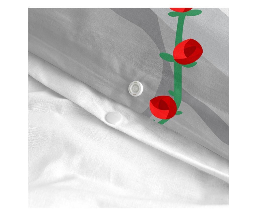 Set de pat Single Magic Rose Square