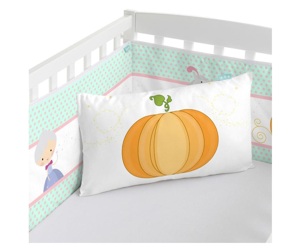 Protectie pentru patut Pumpkin 40x210 cm