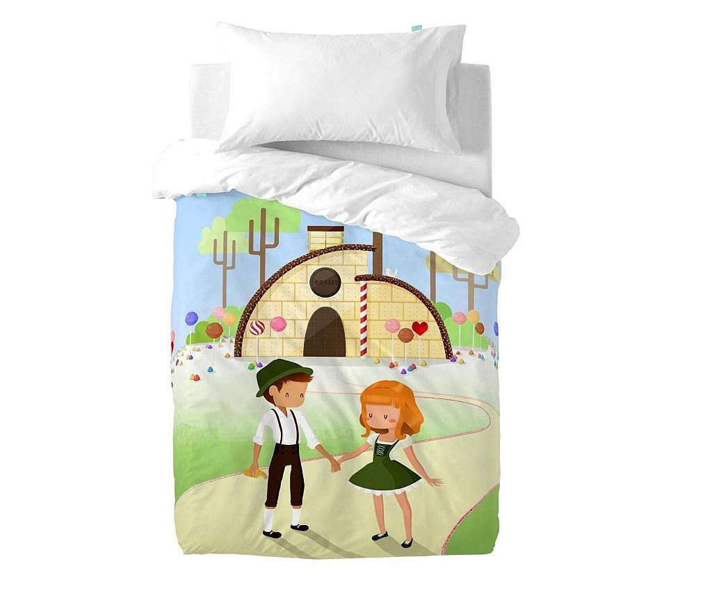 Posteljina za krevetić Candy House Uni