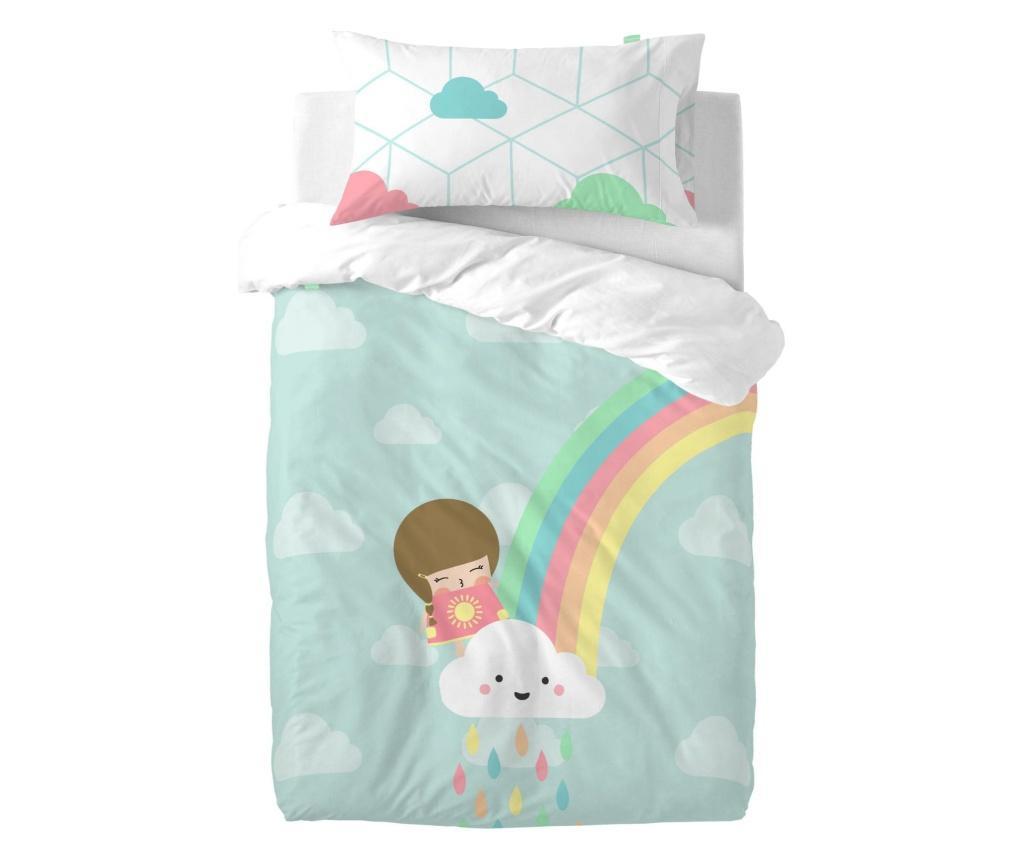 Posteljina za krevetić Rainbow Uni