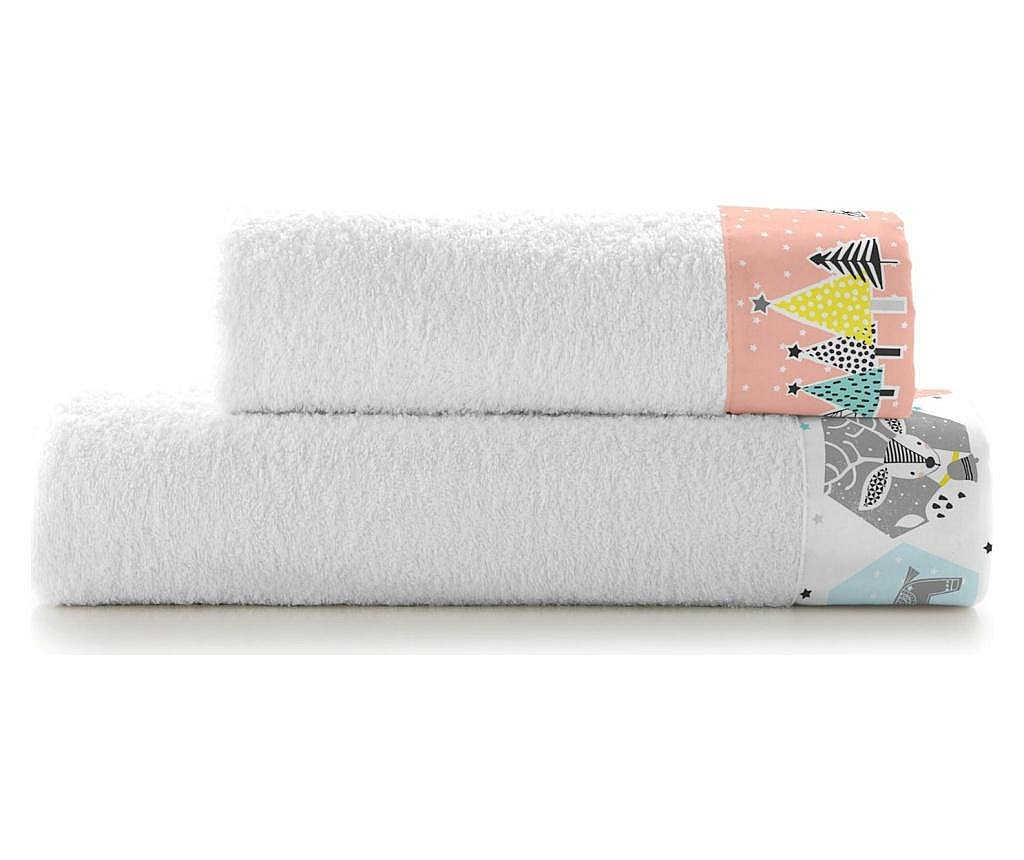 Set 2 kupaonska ručnika Winter