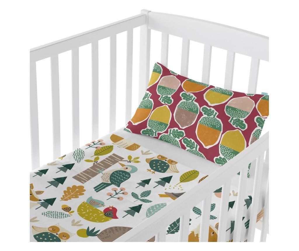 Set plahta za krevetić i jastučnica Harvestwood Uni