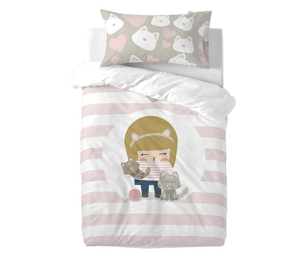 Posteljina za krevetić Single Kitty