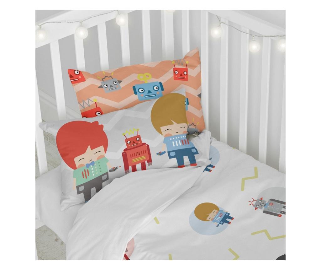 Set posteljina za krevetić Beep