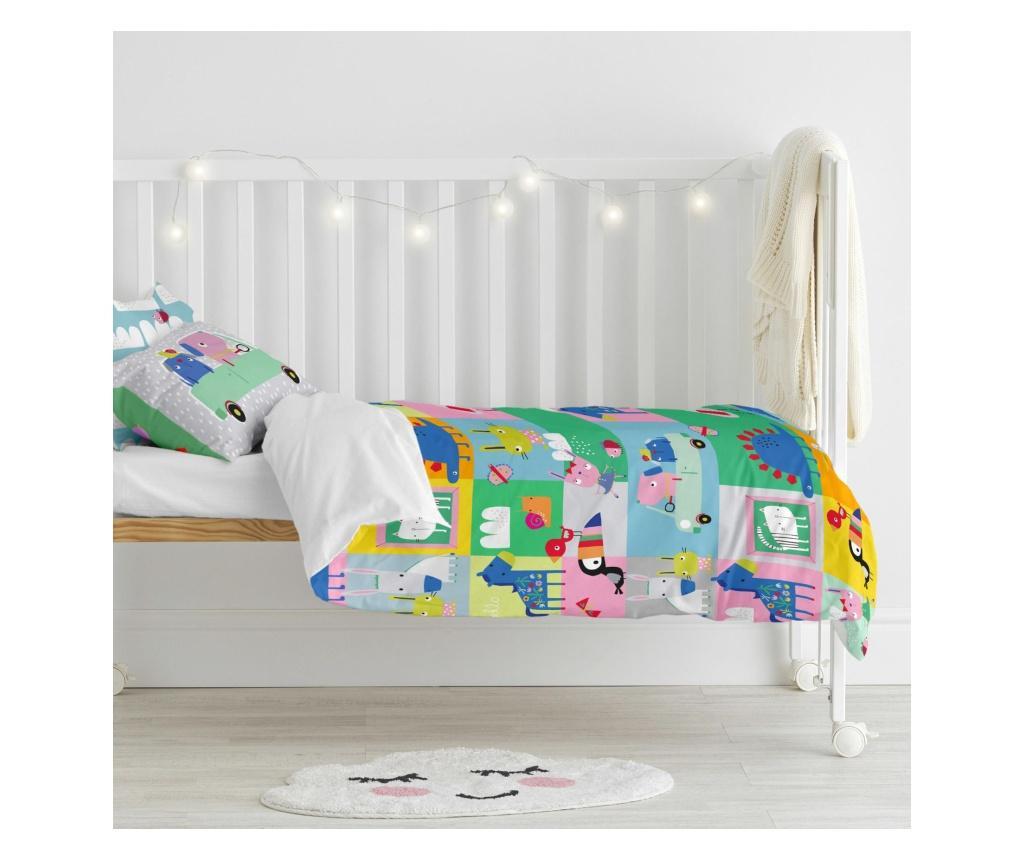 Posteljina za krevetić Animals