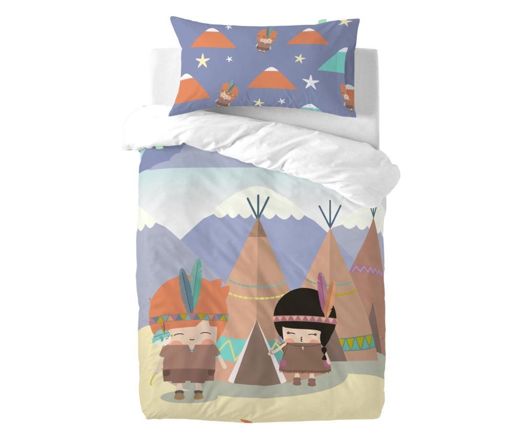 Posteljina za krevetić Indian Night Uni