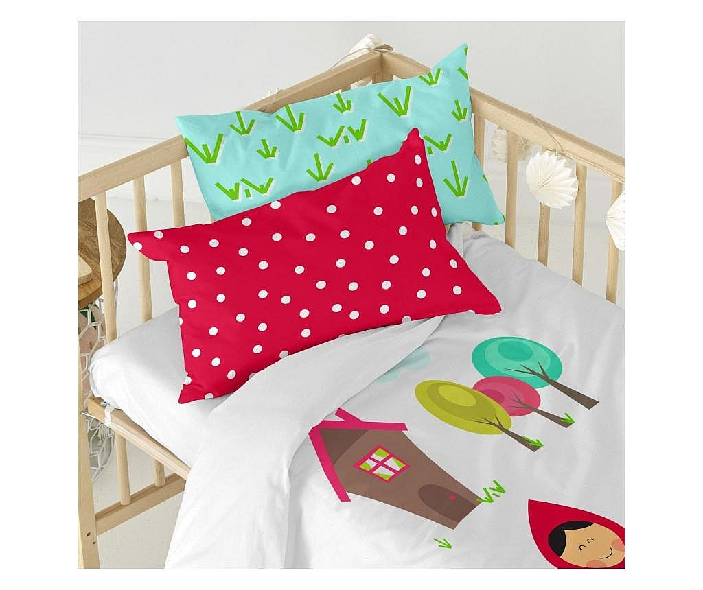 Posteljina za krevetić Red Riding Hood Uni