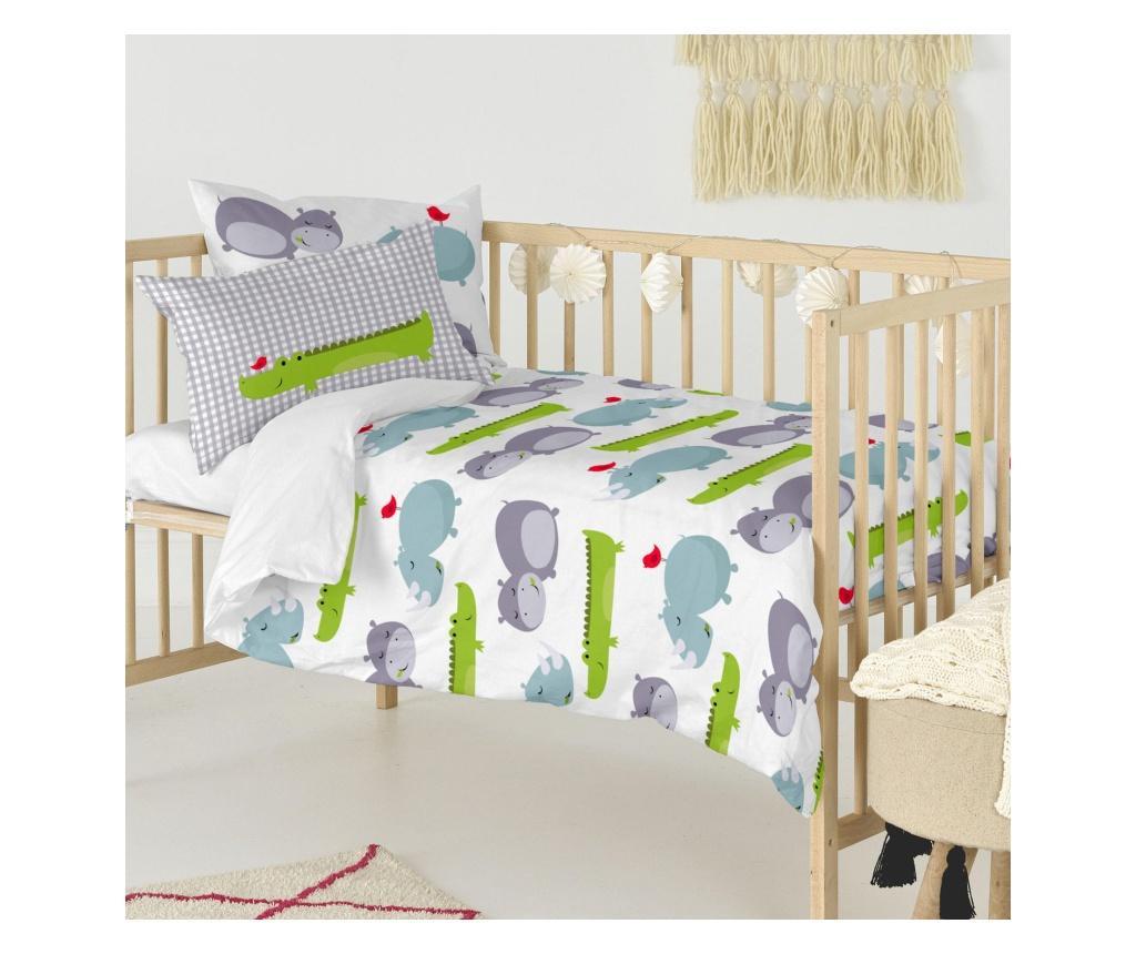 Posteljina za krevetić Hippo Uni