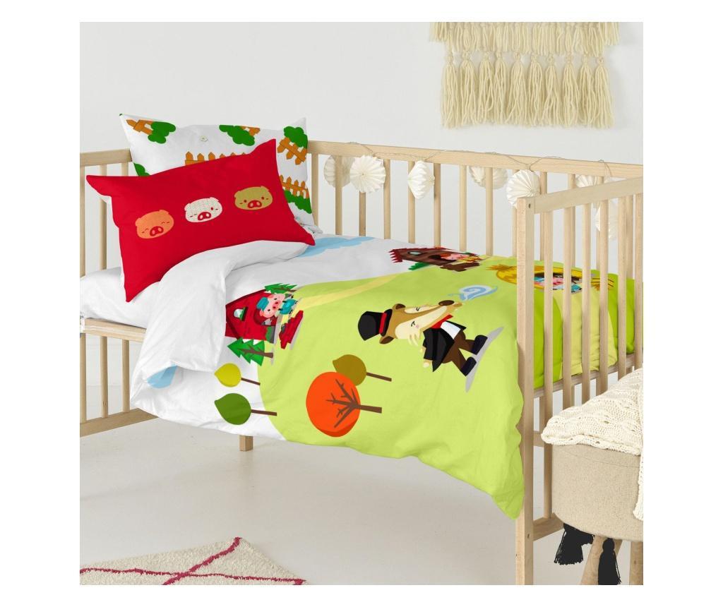 Posteljina za krevetić Piggys Uni