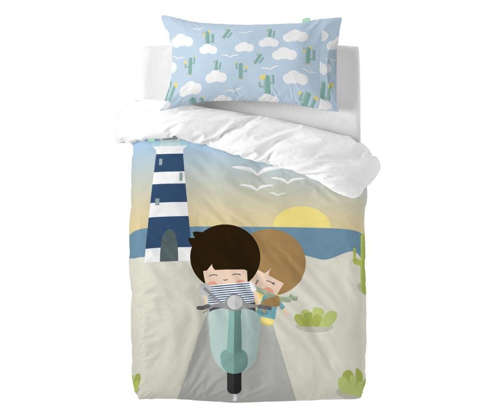 Posteljina za krevetić Summer Time Simple