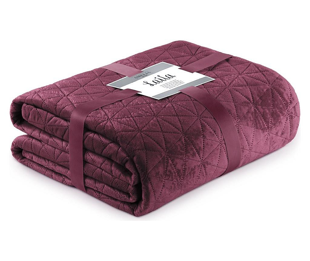 Prošiveni prekrivač Laila Purple 260x280 cm