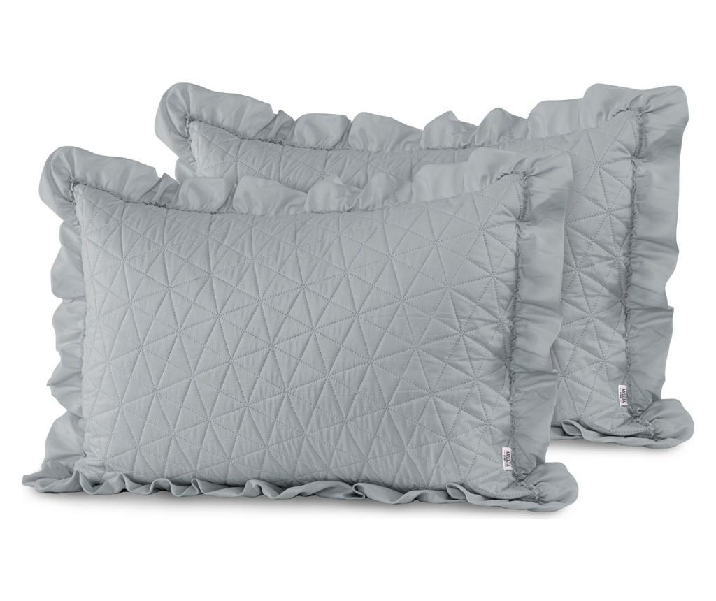 Set 2 jastučnice Tilia Grey 50x70 cm