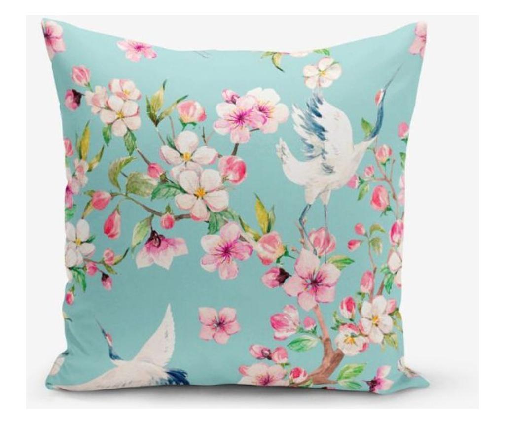 Fata de perna Minimalist Cushion Covers Wormwood Bird 45x45 cm