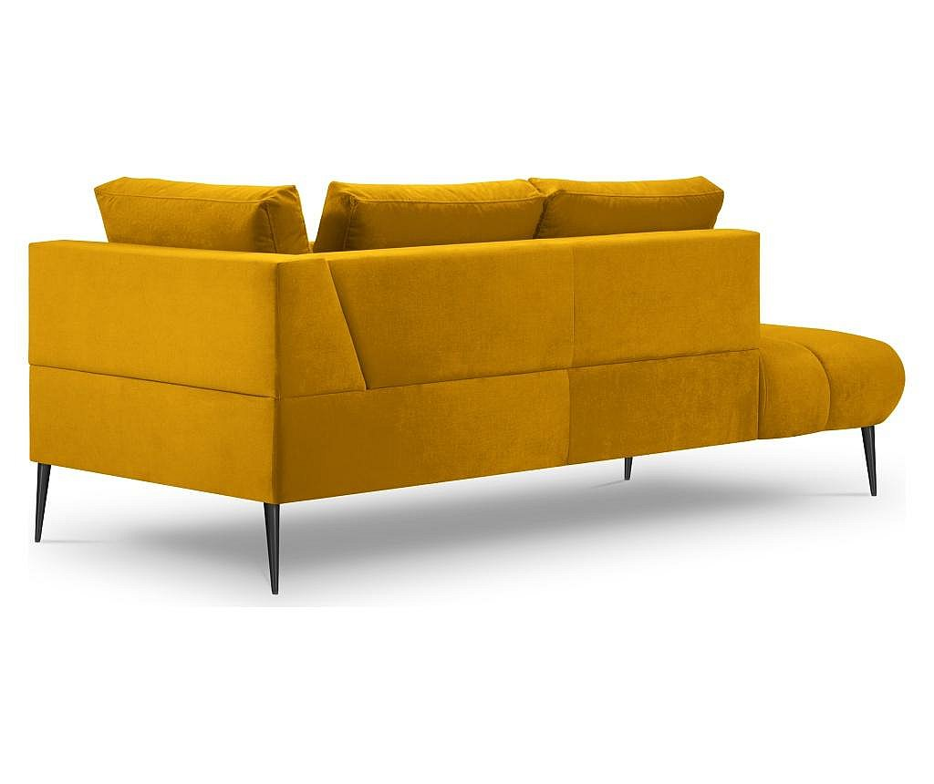 2 místná pohovka Octave Yellow