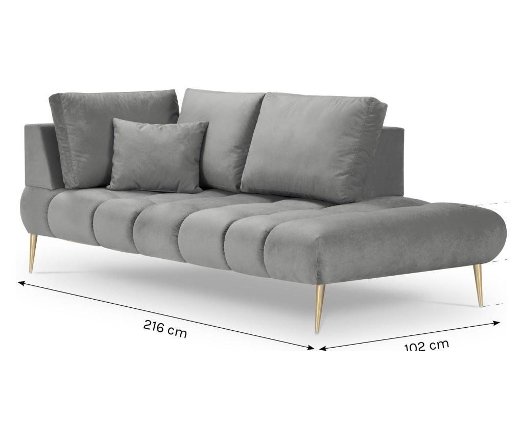 Canapea 2 locuri Octave Pink