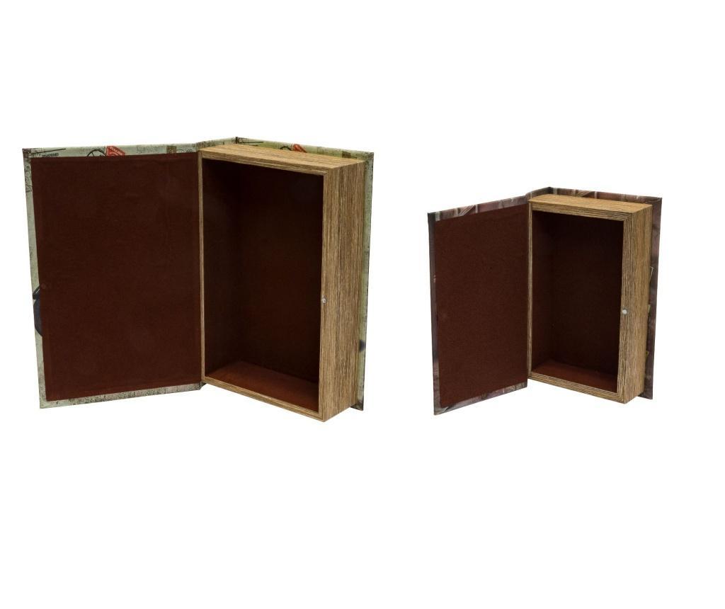 Set 2 kutije tipa knjige Giorgio