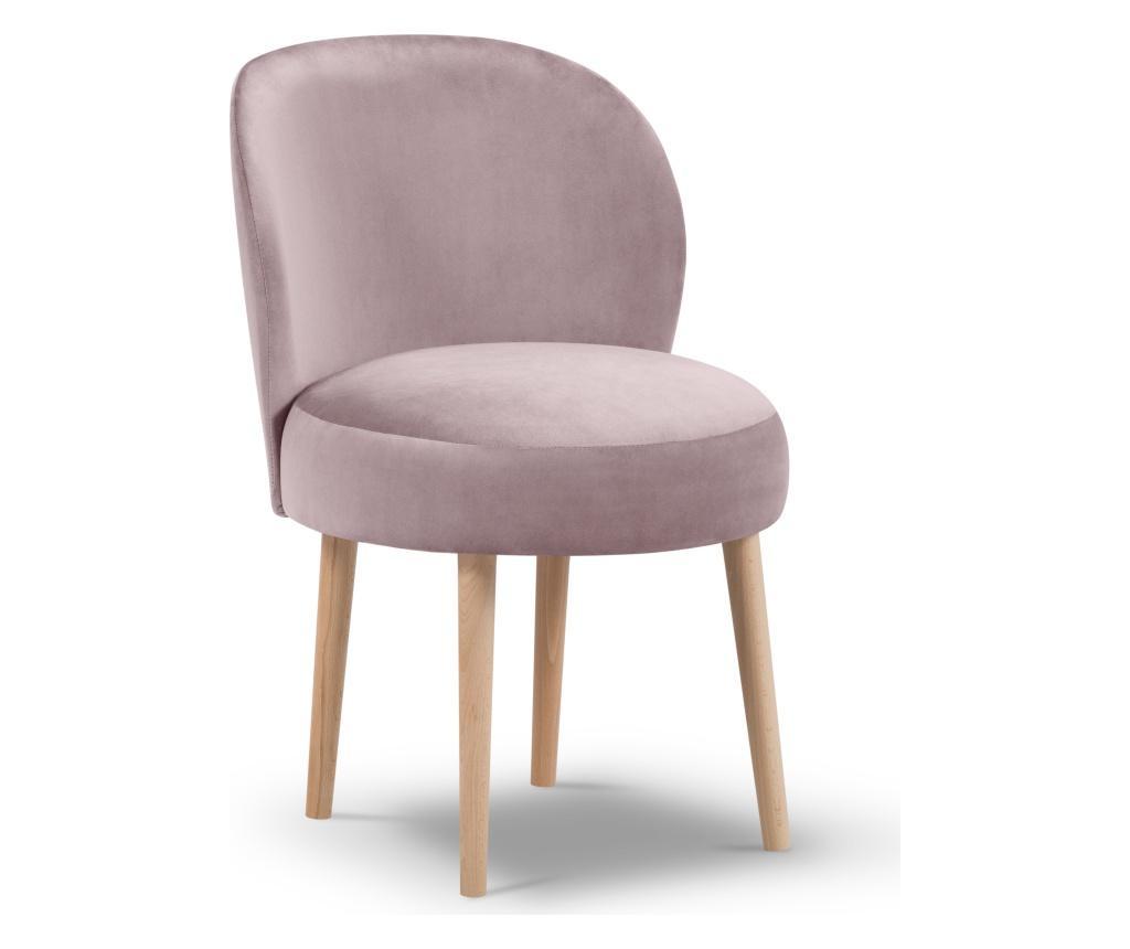 Scaun Velvet Marimba Pink