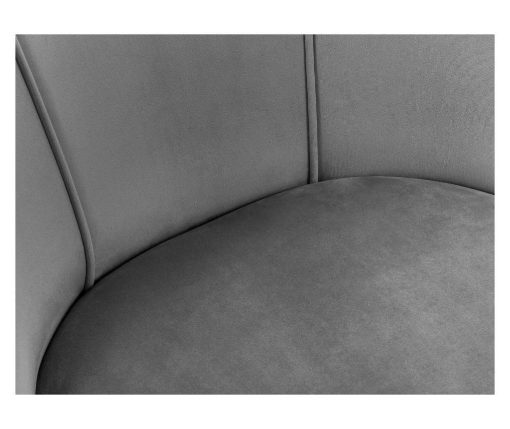 Scaun Velvet Sonata Light Grey