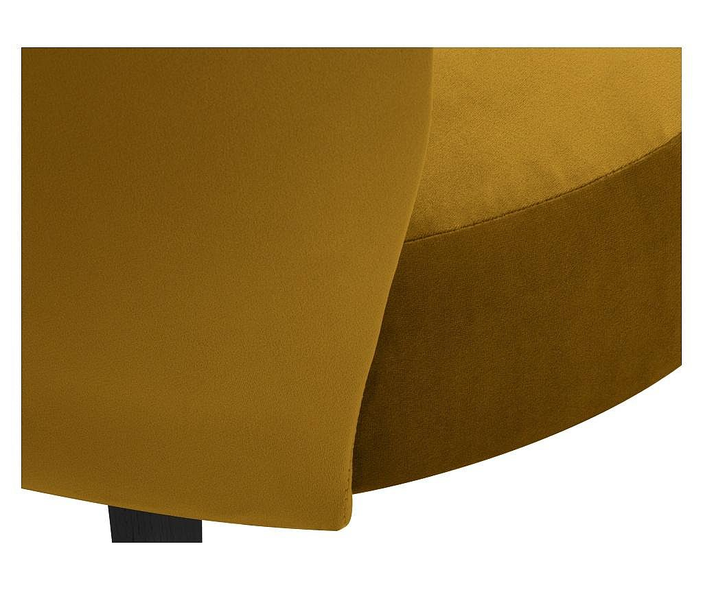 Scaun Velvet Marimba Yellow
