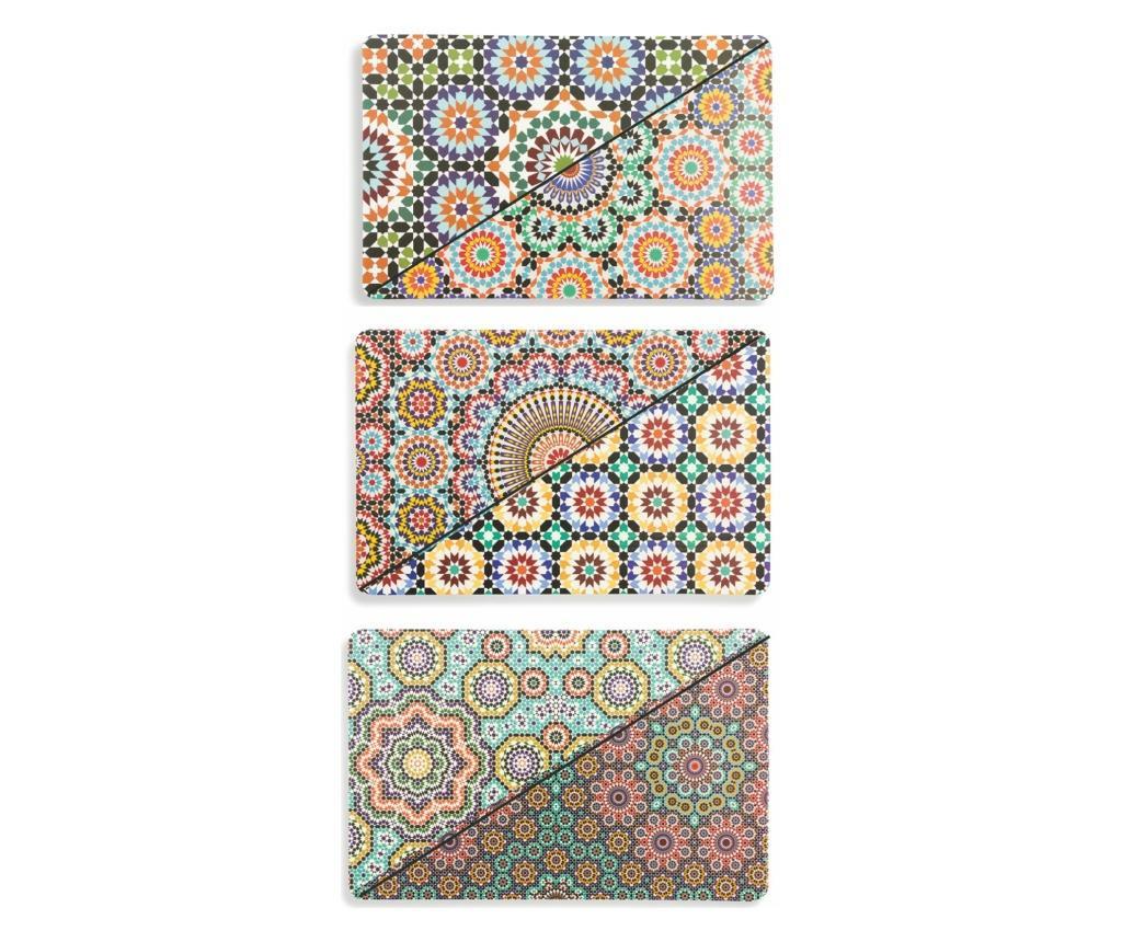 Set 6 podmetača Marrakech 30x45 cm