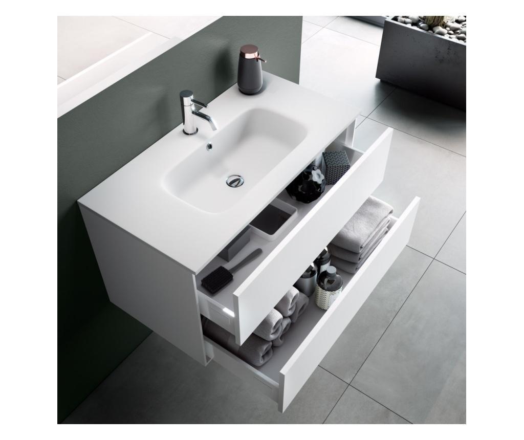 Zestaw mebli łazienkowych 4 części Vanity Ago